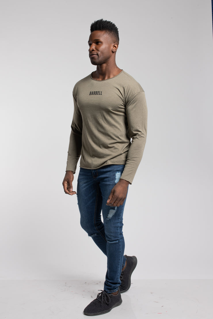 Starter Long Sleeve In Olive