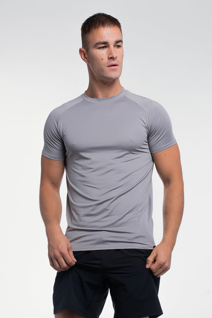 Ultralight Tech Tee in Slate