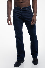 Relaxed Athletic Fit in Dark Rinse - thumbnail image no.1