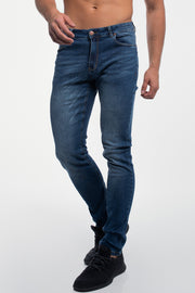 Slim Athletic Fit in Medium Distressed - thumbnail image no.1