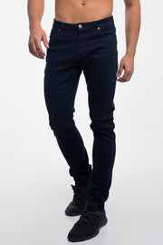 Straight Athletic Fit in Dark Indigo ( Tall )