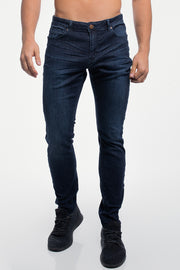 Slim Athletic Fit in Dark Distressed - thumbnail image no.1