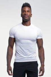 Ultralight Tech Tee in White - thumbnail image no.1