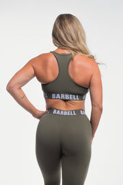 Barbell Sports Bra in Rifle