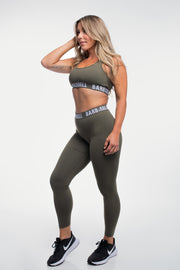 Barbell Leggings in Rifle
