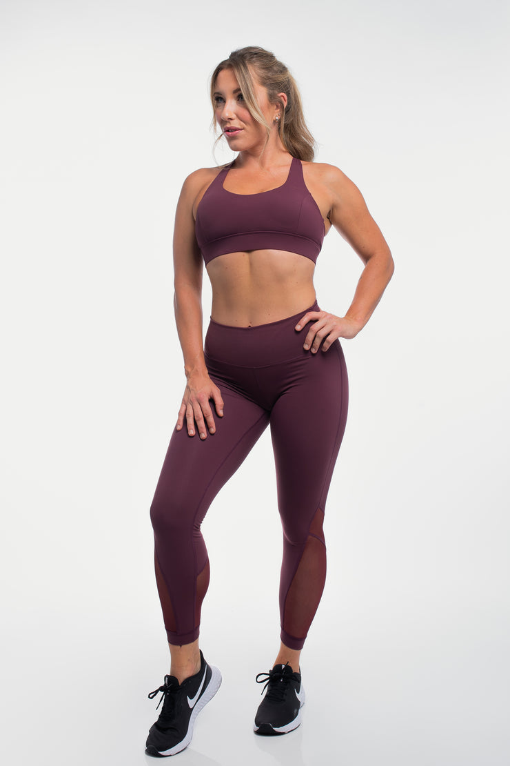 Luna Leggings in Plum