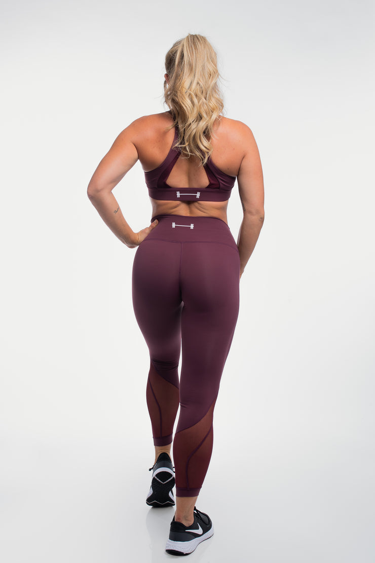 Luna Leggings in Plum - image no.2