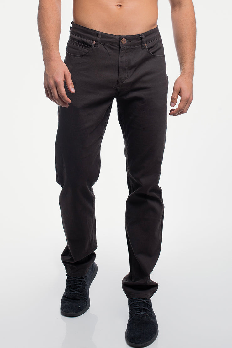 Athletic Chino Pant in Smoke
