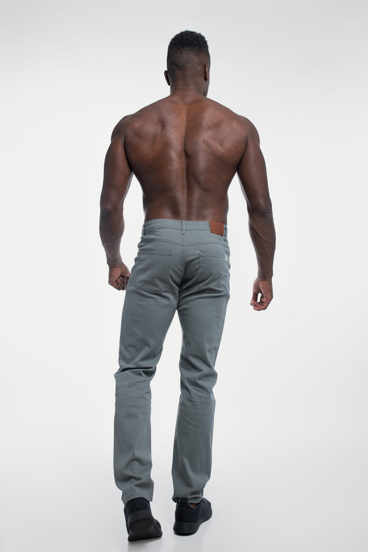 Athletic Chino Pant in Ash