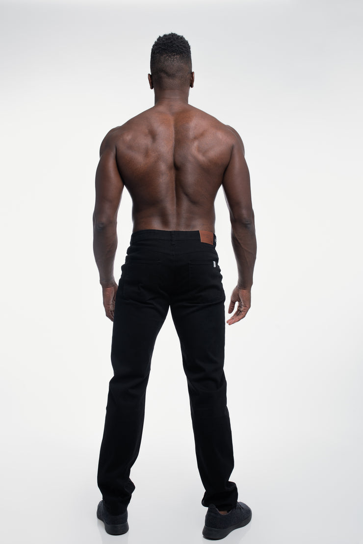 Athletic Chino Pant in Black