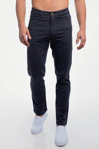 Anything Pant in Slim Navy