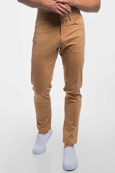 Anything Pant in Straight Khaki