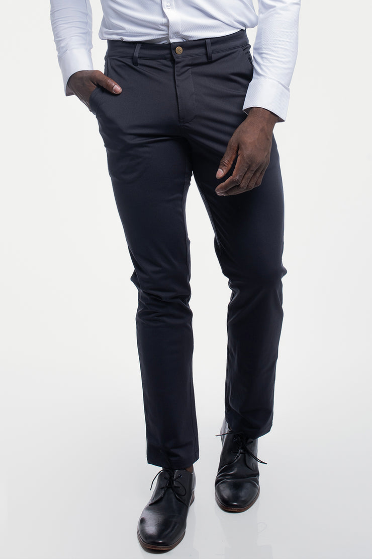 Anything Chino in Straight Navy - image no.1
