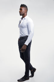 Anything Chino in Straight Navy - thumbnail image no.3
