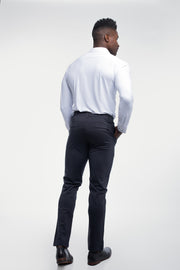 Anything Chino in Straight Navy - thumbnail image no.2
