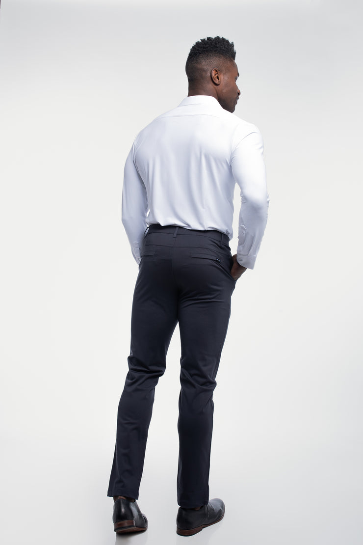 Anything Chino in Straight Navy - image no.2
