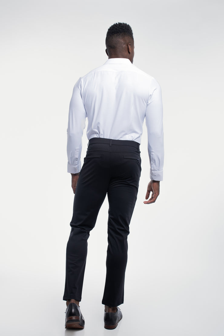 Anything Chino in Straight Black - image no.2