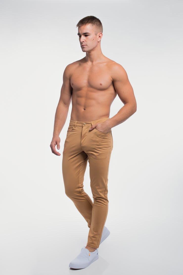 Anything Pant in Slim Khaki - image no.3