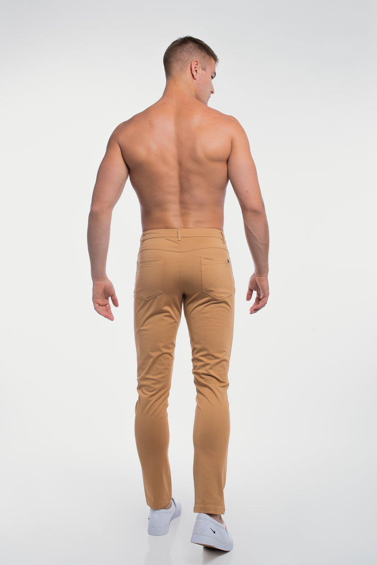 Anything Pant in Slim Khaki - image no.2