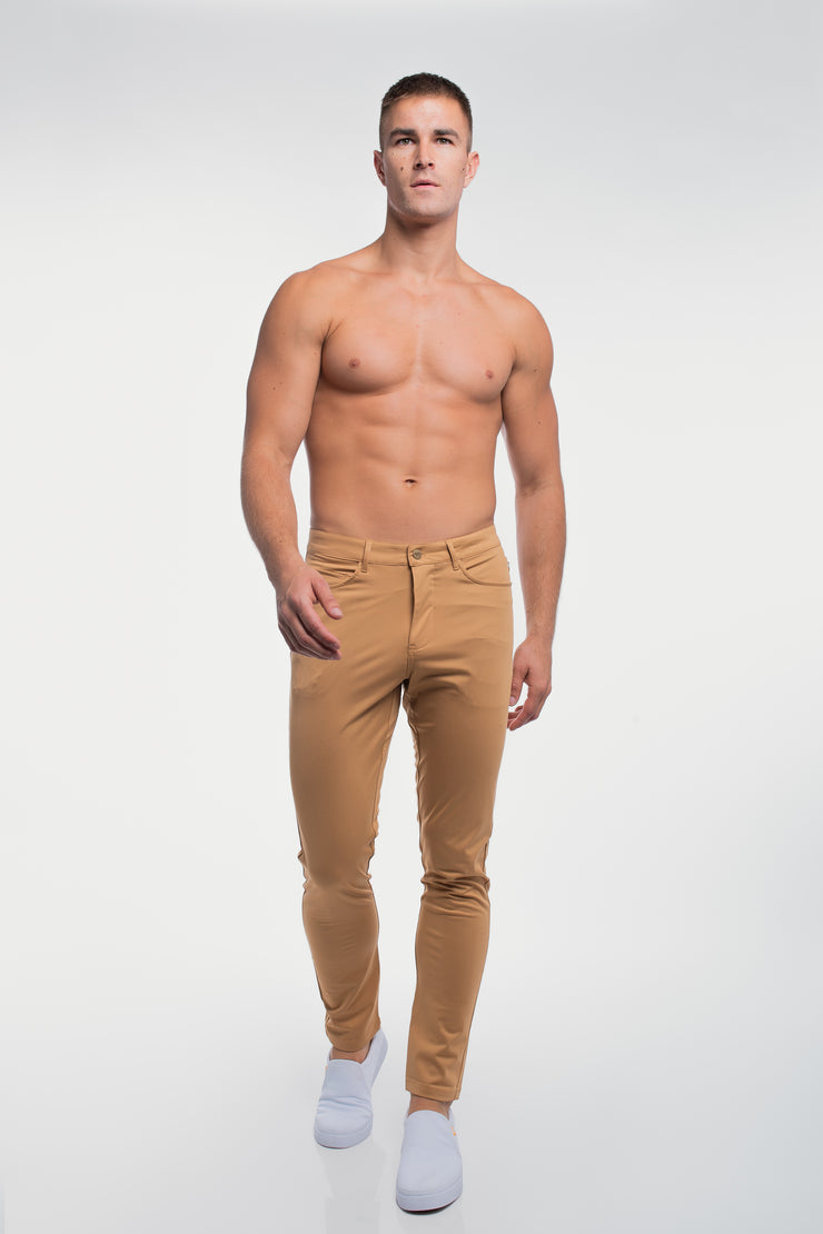 Anything Pant in Slim Khaki - image no.4