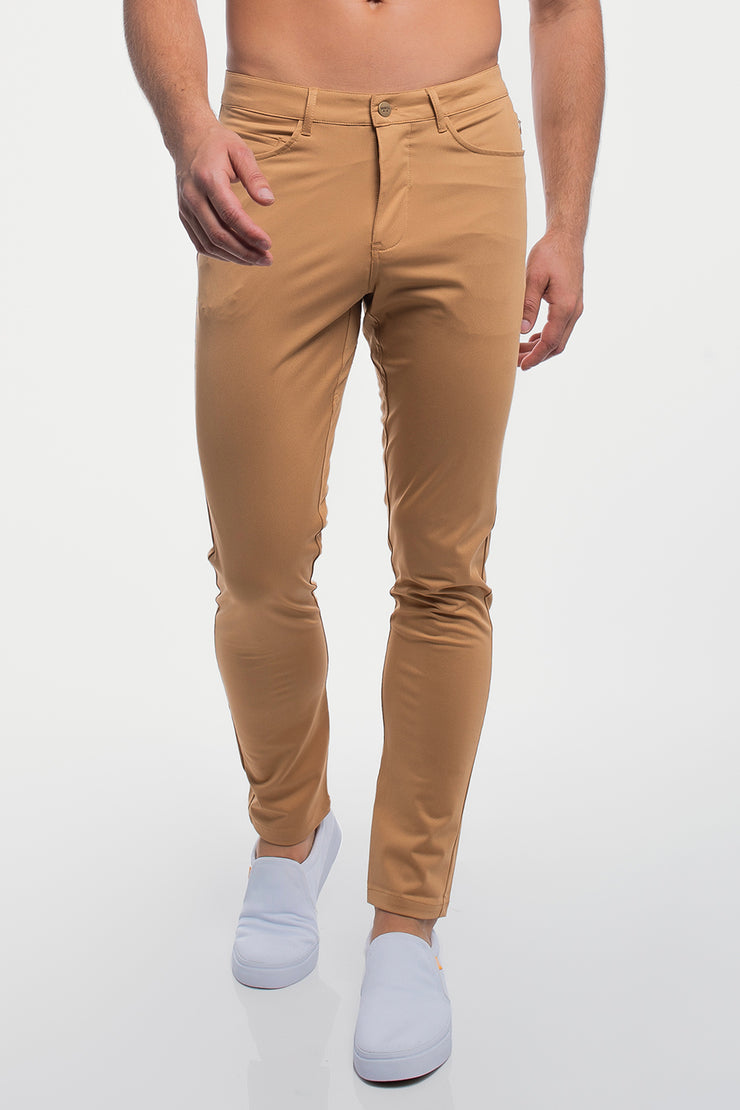 Anything Pant in Slim Khaki - image no.1
