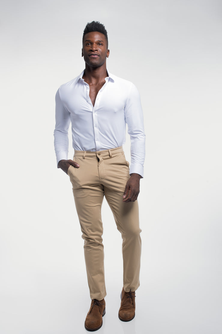 Anything Chino in Straight Khaki - image no.4