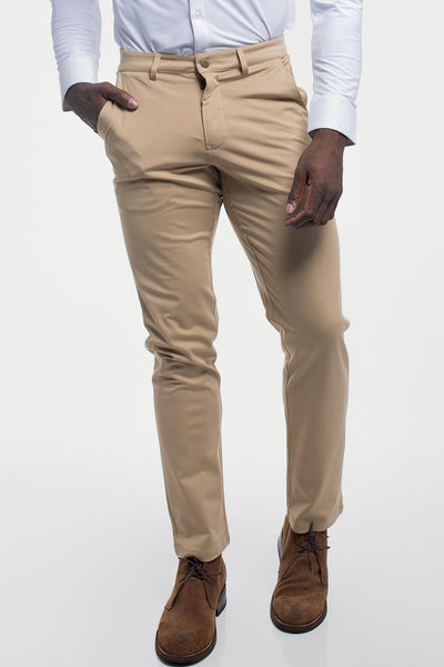 Anything Chino in Straight Khaki