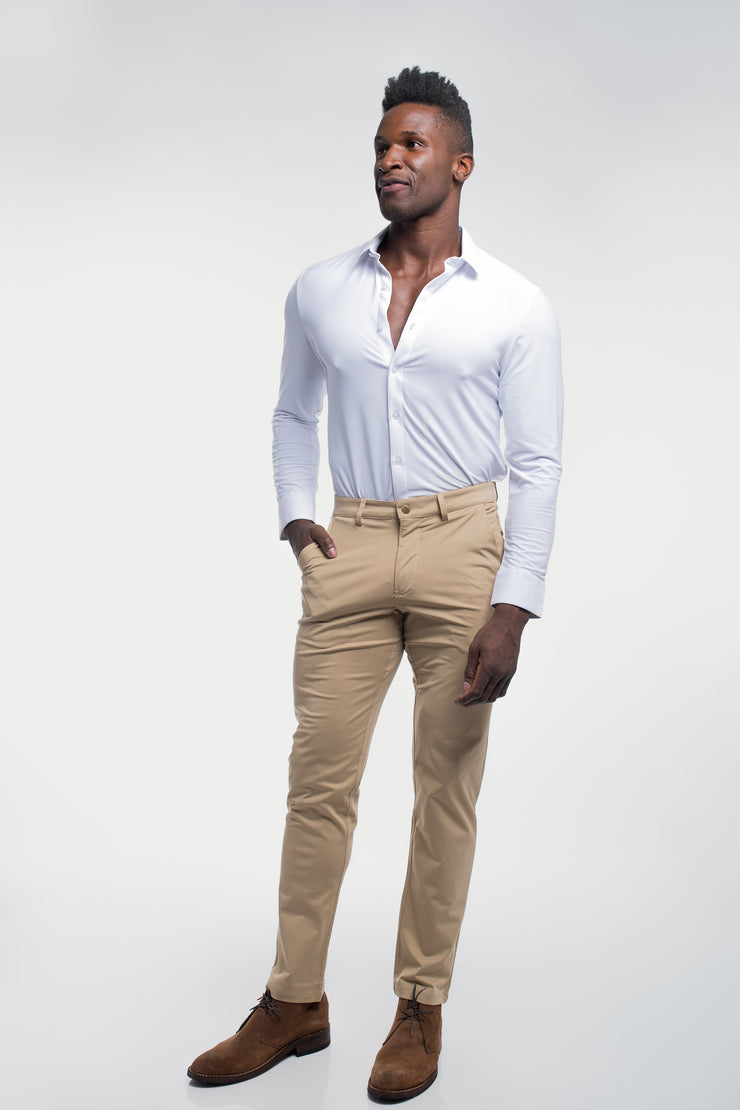 Anything Chino in Straight Khaki - image no.3