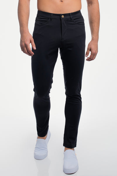 Anything Pant in Slim Black