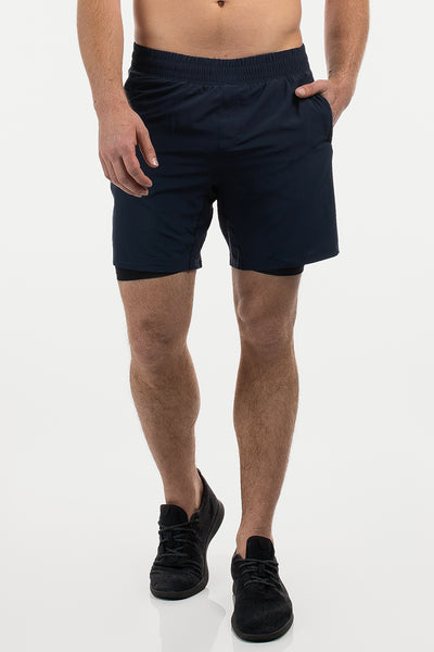 Ghost Short in Navy