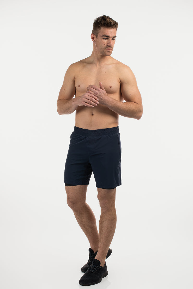 Ghost Short in Navy - image no.2
