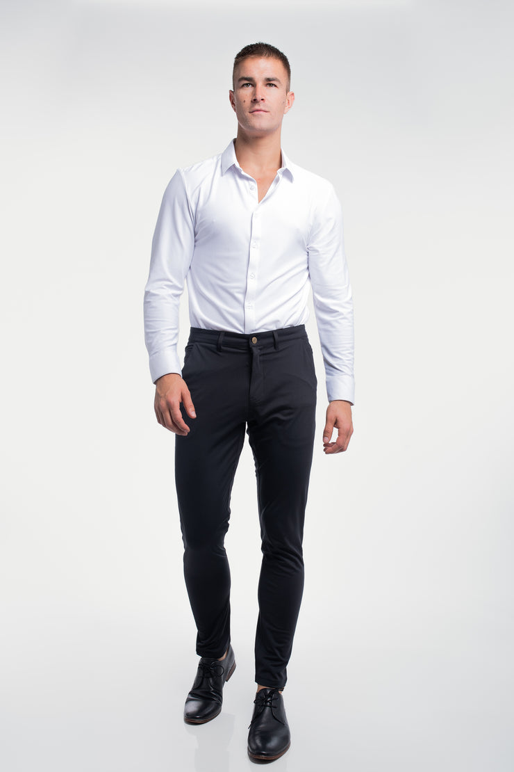 Anything Chino in Slim Black - image no.4
