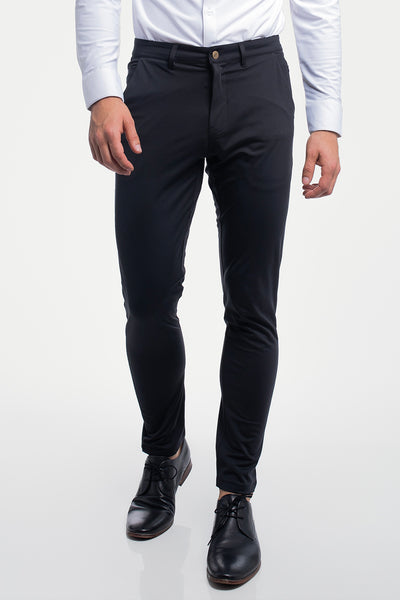 Anything Chino in Slim Black