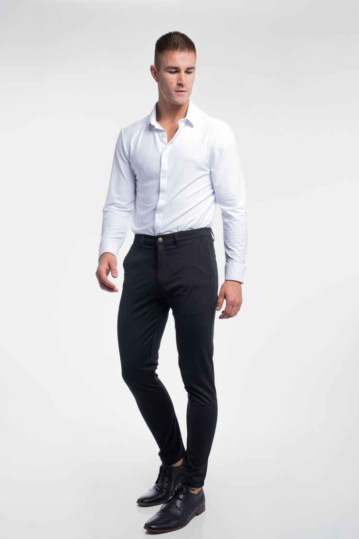Anything Chino in Slim Black - image no.3