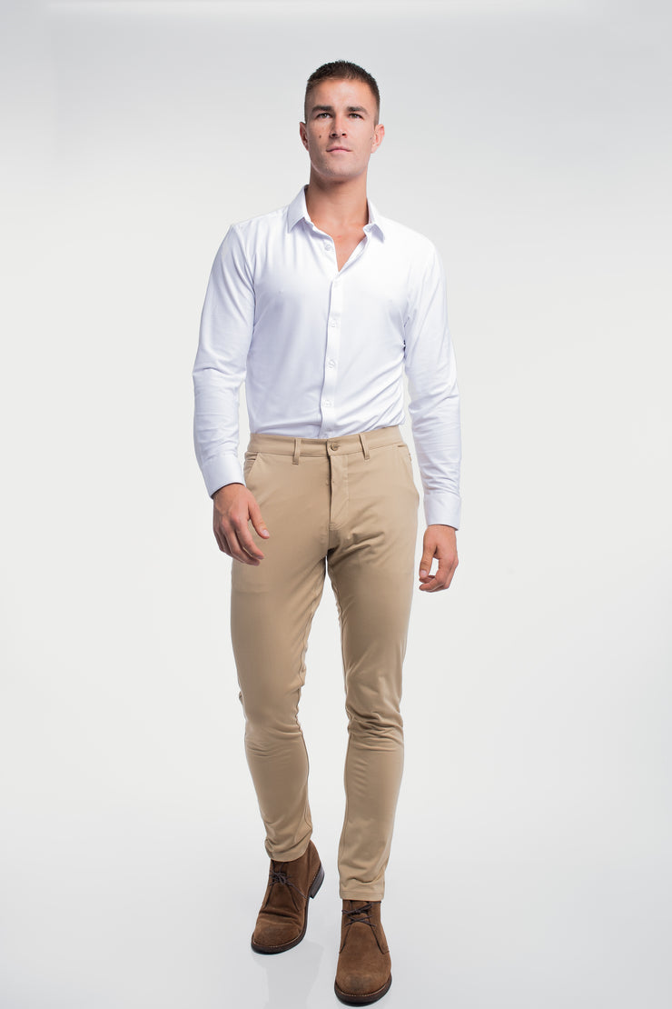 Anything Chino in Slim Khaki - image no.4