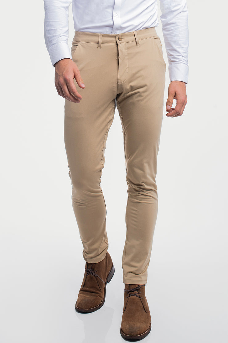 Anything Chino in Slim Khaki