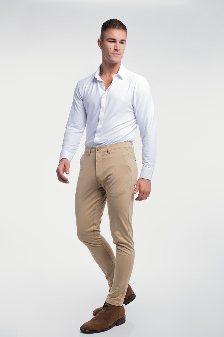 Anything Chino in Slim Khaki - image no.3