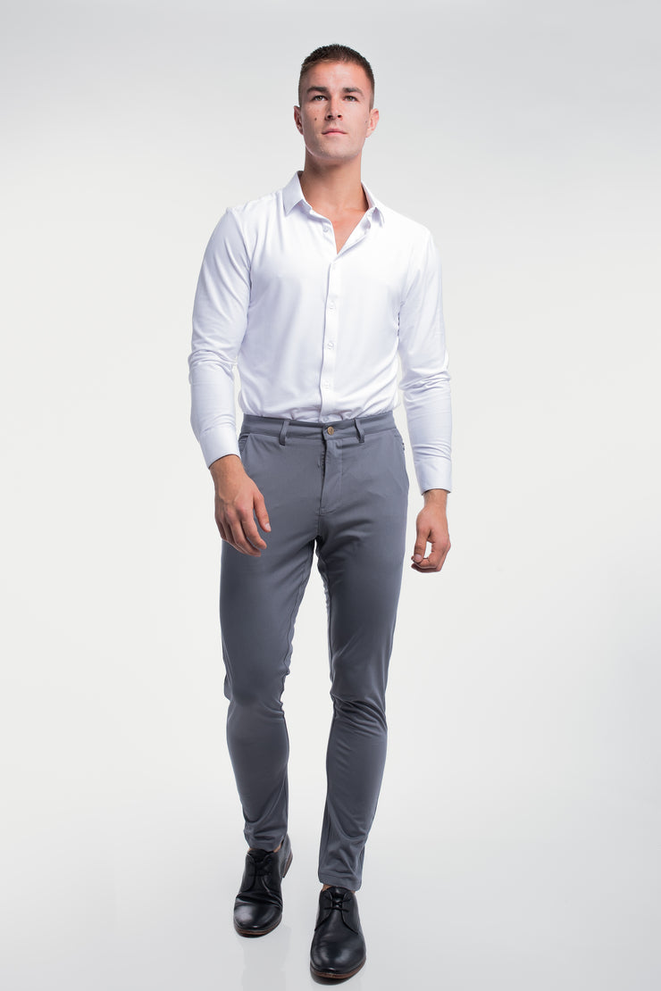 Anything Chino in Slim Slate - image no.4
