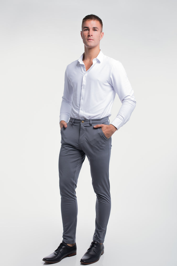 Anything Chino in Slim Slate - image no.3