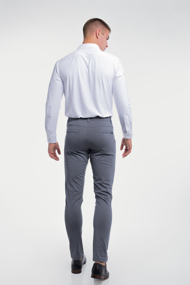 Anything Chino in Slim Slate - image no.2