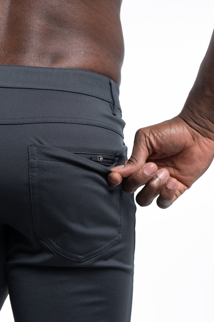 Anything Pant in Slim Charcoal