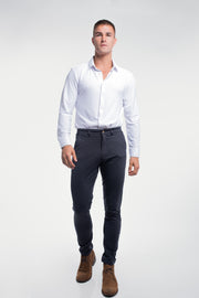 Anything Chino in Slim Navy - thumbnail image no.4