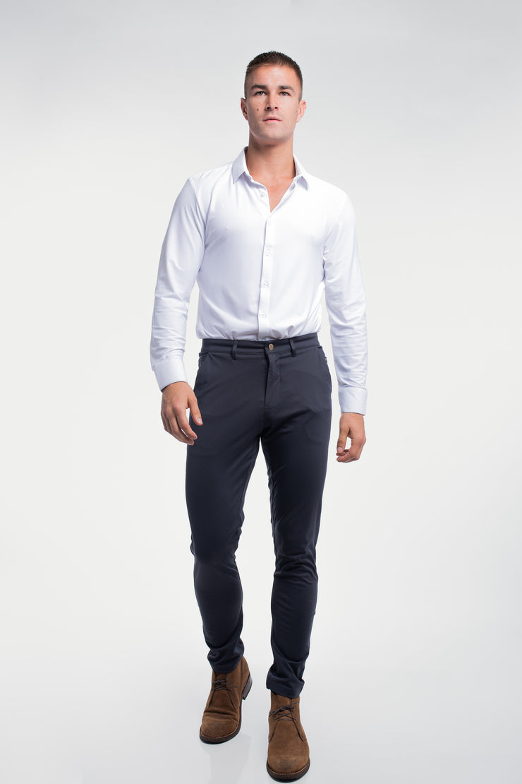Anything Chino in Slim Navy - image no.4