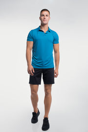 Ultralight Polo in Steel Blue - thumbnail image no.5