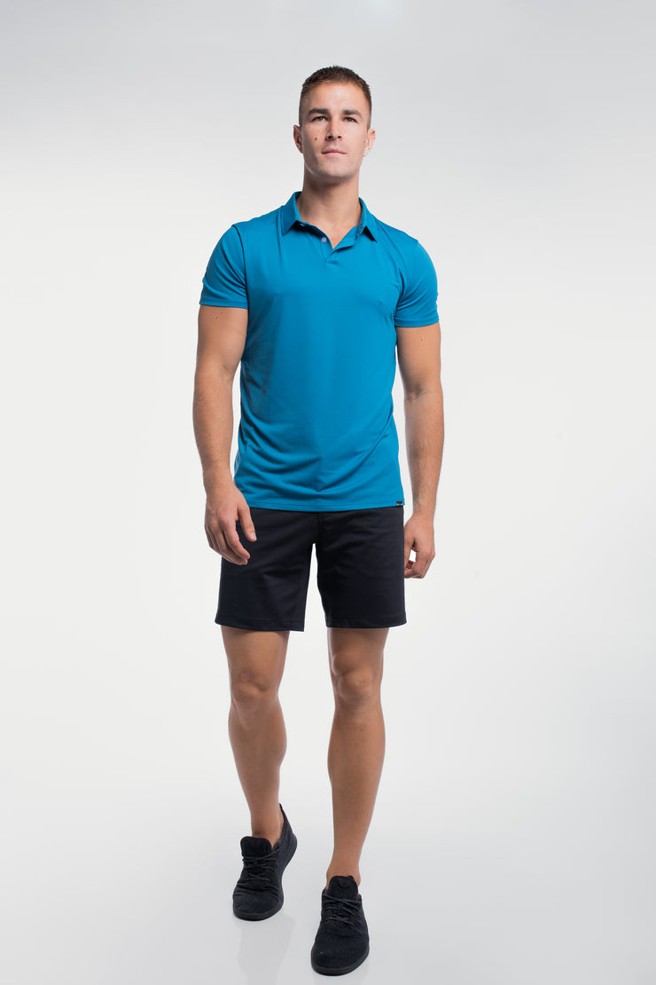 Ultralight Polo in Steel Blue - image no.5