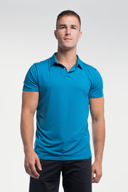 Ultralight Polo in Steel Blue - thumbnail image no.1