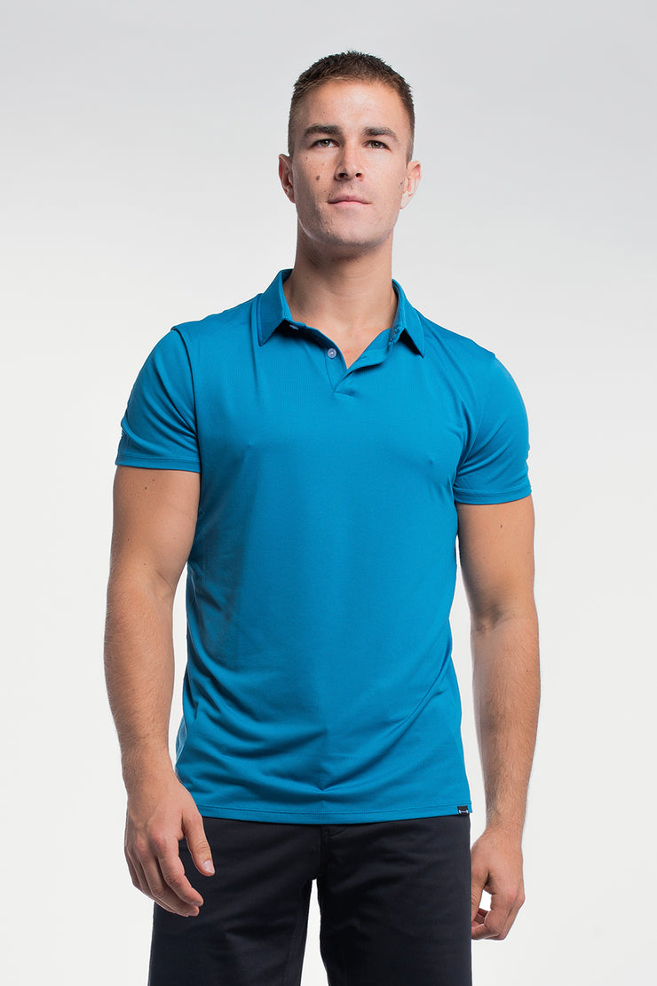 Ultralight Polo in Steel Blue - image no.1