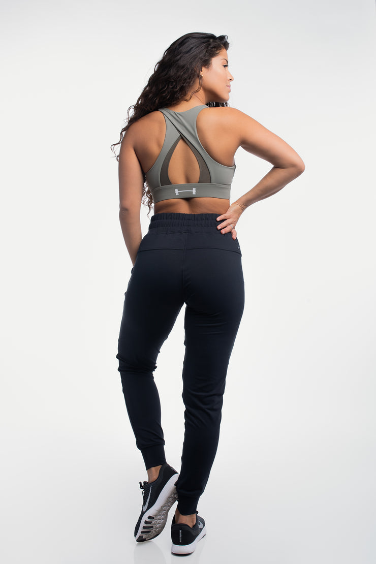 Contour Joggers in Black - image no.2