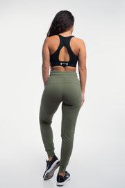 Contour Joggers in Rifle Green