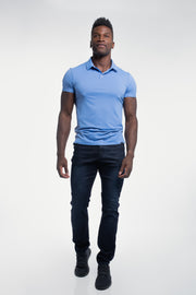 Havok Polo in Arctic Blue - thumbnail image no.5